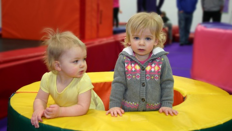 kelowna gymnastics drop in program toddlers preschoolers