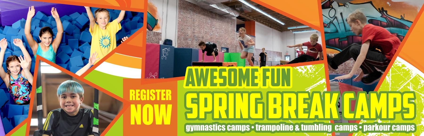 Kelowna gymnastics spring break camps