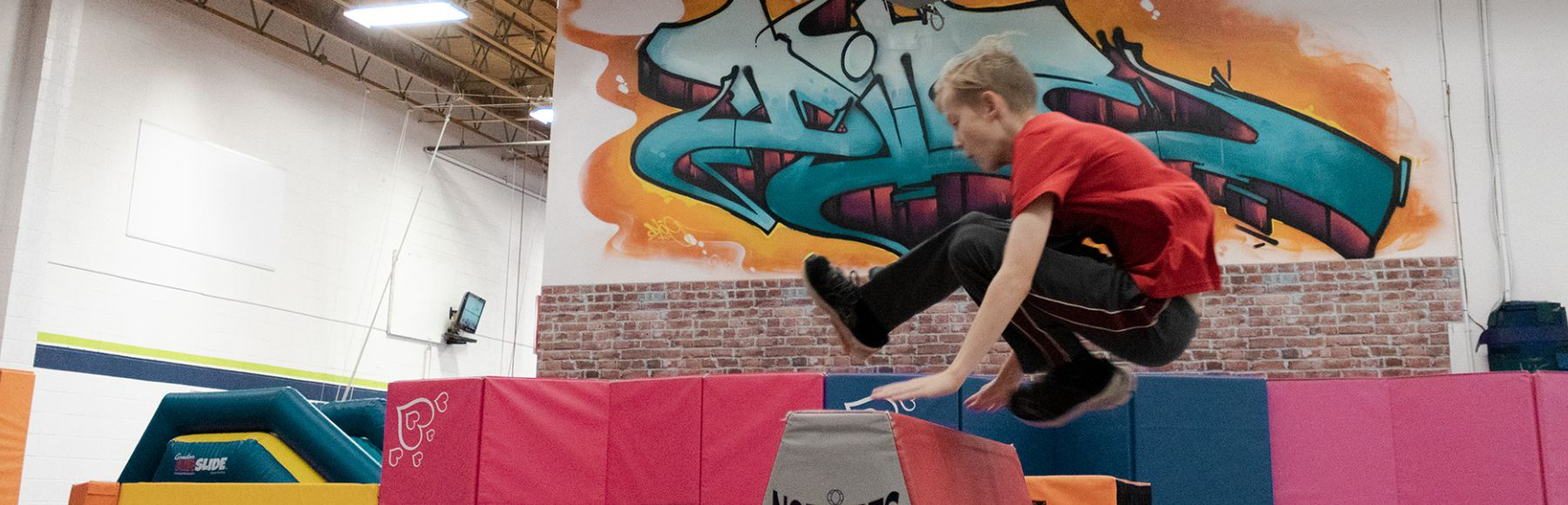 urban parkour drop-in 7- 13 years
